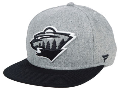 Minnesota Wild NHL Heavy Heather Emblem Snapback Cap