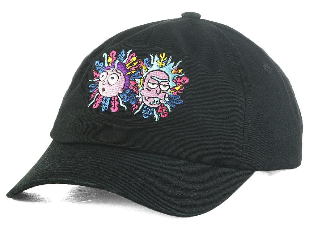 Primitive Apparel Rick and Morty Logo Dad Hat  817f8f30e10