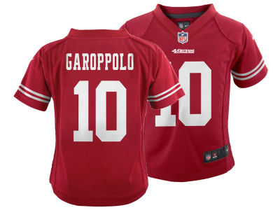 San Francisco 49ers Jimmy Garoppolo Nike NFL Toddler Game Jersey