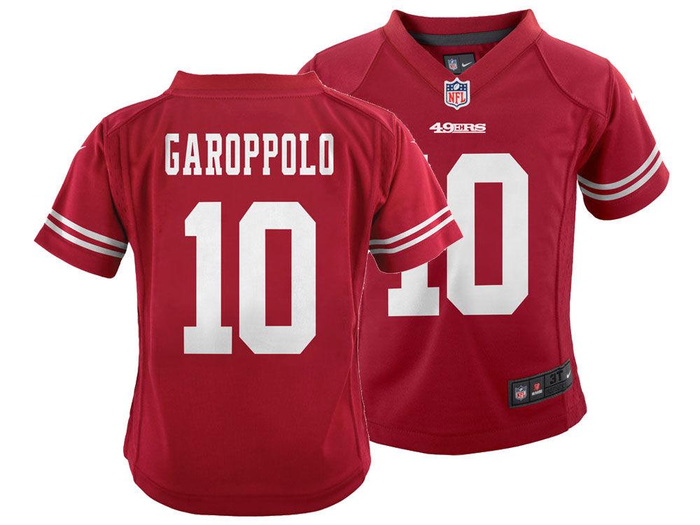 San Francisco 49ers Jimmy Garoppolo Nike NFL Infant Game Jersey ... 1c03b2622