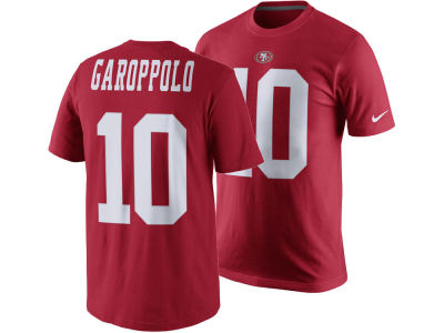 San Francisco 49ers Jimmy Garoppolo Nike NFL Youth Pride Name and Number T-Shirt