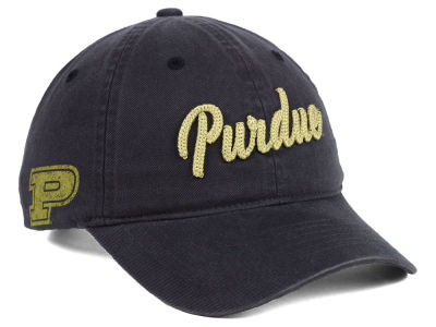 Purdue Boilermakers Zephyr NCAA Scroll Adjustable Cap