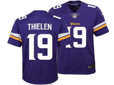 Minnesota Vikings Adam Thielen Nike NFL Youth Color Rush Jersey