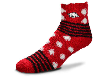 Arkansas Razorbacks Homegater Sleep Soft Socks
