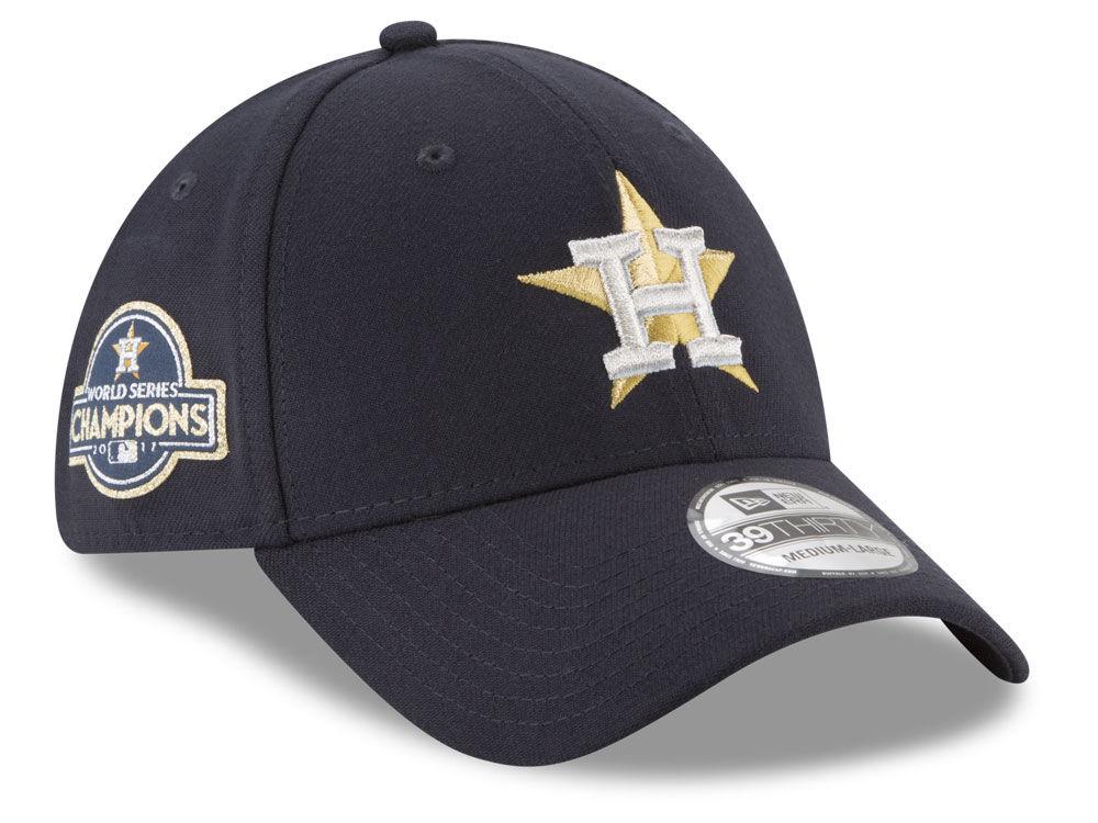26f336d09e3 Houston Astros New Era MLB 2017 World Series Commemorative 39THIRTY Cap