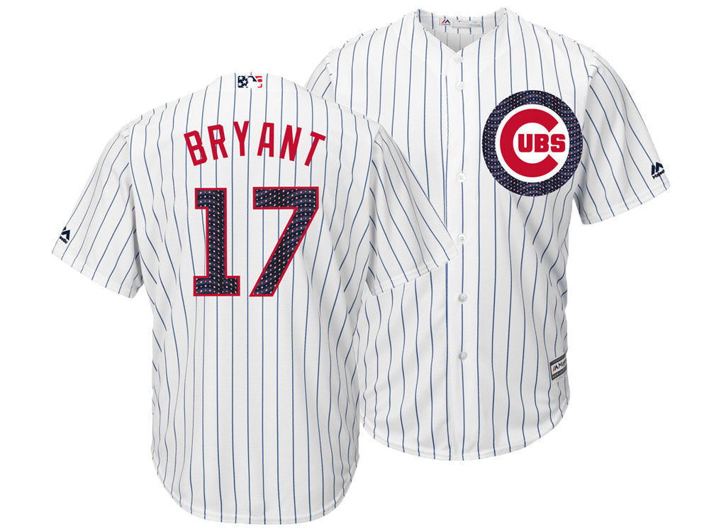 c14357ad5 ... uk chicago cubs kris bryant majestic mlb mens stars stripes cool base  jersey 7c5ae 2e719