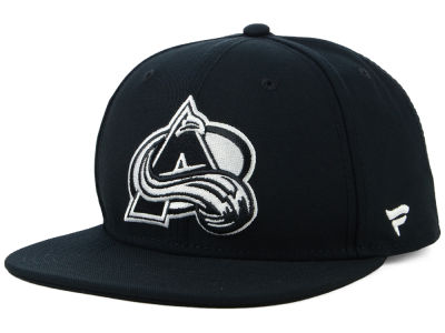 Colorado Avalanche NHL Black DUB Fitted Cap