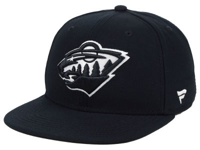NHL Black DUB Fitted Cap