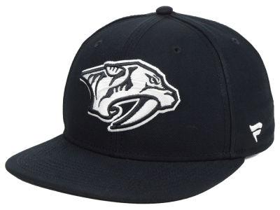Nashville Predators NHL Branded NHL Black DUB Fitted Cap d259e06151