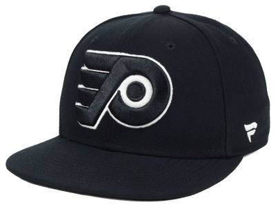 Philadelphia Flyers NHL NHL Black DUB Fitted Cap 6f8d4f3e42b1