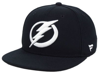 Tampa Bay Lightning NHL Black DUB Fitted Cap