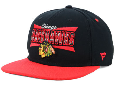 Chicago Blackhawks NHL Combo Emblem Snapback Cap