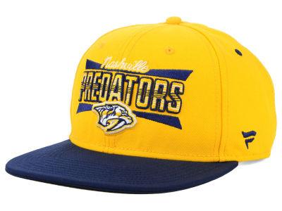 Nashville Predators NHL Combo Emblem Snapback Cap b80ddc378cca