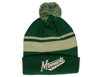 Minnesota Wild NHL Alternate Jersey Cuffed Pom Knit