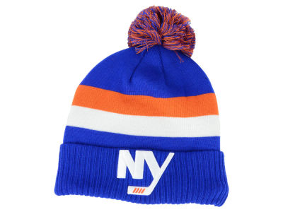 New York Islanders NHL Alternate Jersey Cuffed Pom Knit