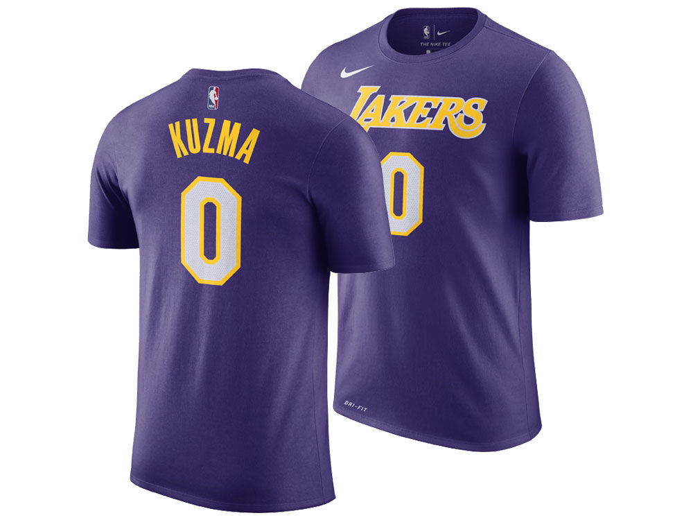 Los Angeles Lakers Kyle Kuzma Nike NBA Men s Statement Player T-shirt  f19d62dd0