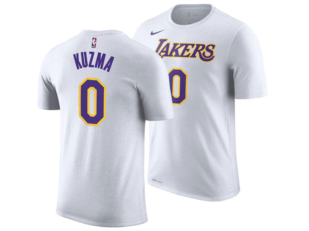 Los Angeles Lakers Kyle Kuzma Nike NBA Men s Association Player T-Shirt  d298d4d23