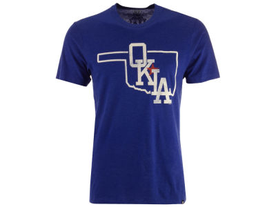 Oklahoma City Dodgers '47 MiLB Men's Club Logo T-Shirt