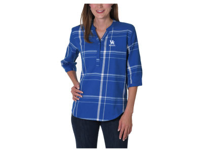 Kentucky Wildcats NCAA Women's Plaid Tunic