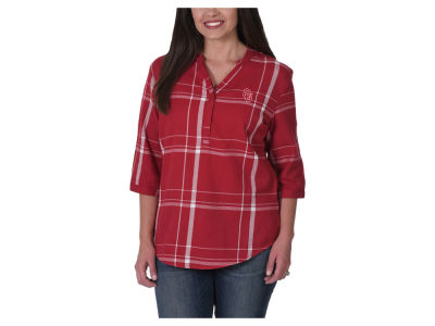 Oklahoma Sooners NCAA Women's Plaid Tunic