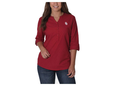 Oklahoma Sooners NCAA Women's Swiss Dot Tunic