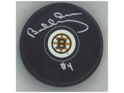 Boston Bruins Bobby Orr Frameworth Autographed Hockey Puck