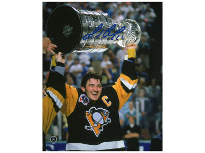 Pittsburgh Penguins Mario Lemieux Frameworth Signed 8x10 Unframed Photograph