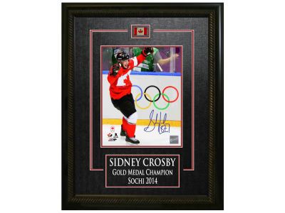 Canada Hockey Sidney Crosby Frameworth Signed 8x10 Etched Mat