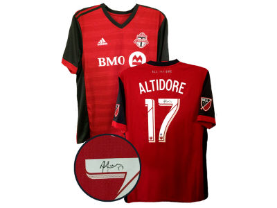 Toronto FC Jozy Altidore Frameworth Autographed Jersey