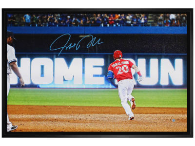 Toronto Blue Jays Josh Donaldson Frameworth Signed 20x29 Canvas Framed