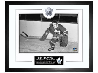 Toronto Maple Leafs Tim Horton Frameworth Framed Photograph