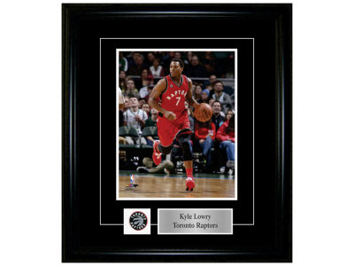 Toronto Raptors Kyle Lowry Frameworth 8x10 Pin And Plate Photograph