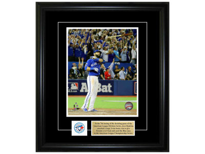 Toronto Blue Jays Jose Bautista Frameworth 8x10 Pin And Plate Photograph