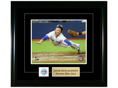 Toronto Blue Jays Josh Donaldson Frameworth 8x10 Pin And Plate Photograph