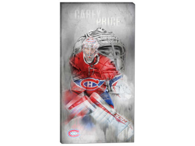 Montreal Canadiens Carey Price Frameworth 14x28 Canvas Double-Exposure Photograph