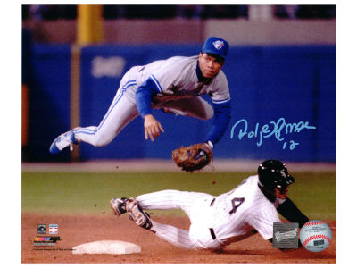 Toronto Blue Jays Roberto Alomar Frameworth Signed 8x10 Unframed Photograph