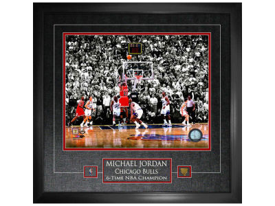Chicago Bulls Michael Jordan Frameworth 16x20 Etched Mat