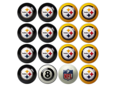 Pittsburgh Steelers Imperial Home vs Away Billiard Ball Set