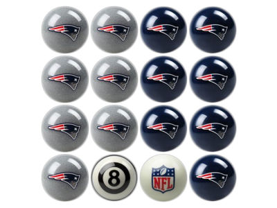 New England Patriots Imperial Home vs Away Billiard Ball Set