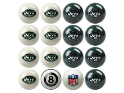 New York Jets Imperial Home vs Away Billiard Ball Set