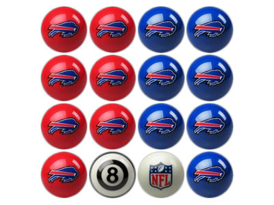Buffalo Bills Imperial Home vs Away Billiard Ball Set