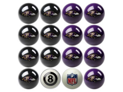 Baltimore Ravens Imperial Home vs Away Billiard Ball Set
