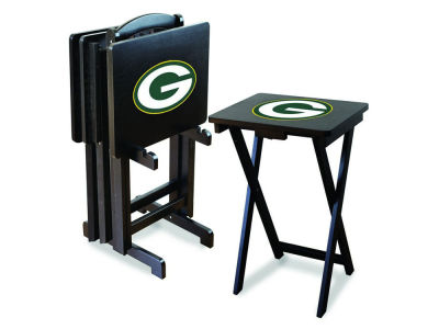 Green Bay Packers Imperial TV Trays with Stand