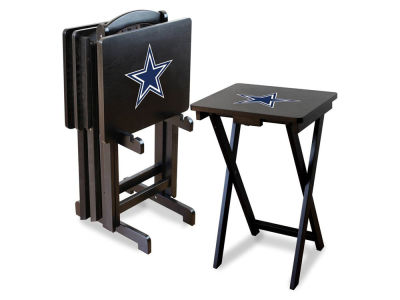 Dallas Cowboys Imperial TV Trays with Stand