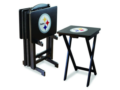 Pittsburgh Steelers Imperial TV Trays with Stand