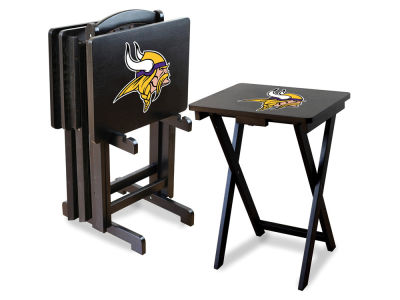Minnesota Vikings Imperial TV Trays with Stand