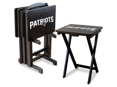 New England Patriots Imperial TV Trays with Stand