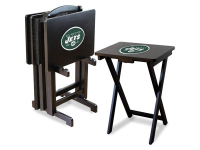 New York Jets Imperial TV Trays with Stand