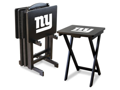 New York Giants Imperial TV Trays with Stand