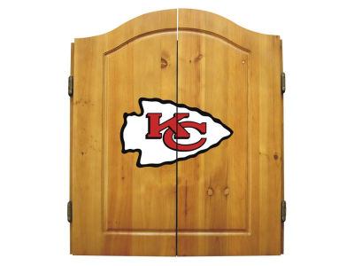 Kansas City Chiefs Imperial Dart Cabinet